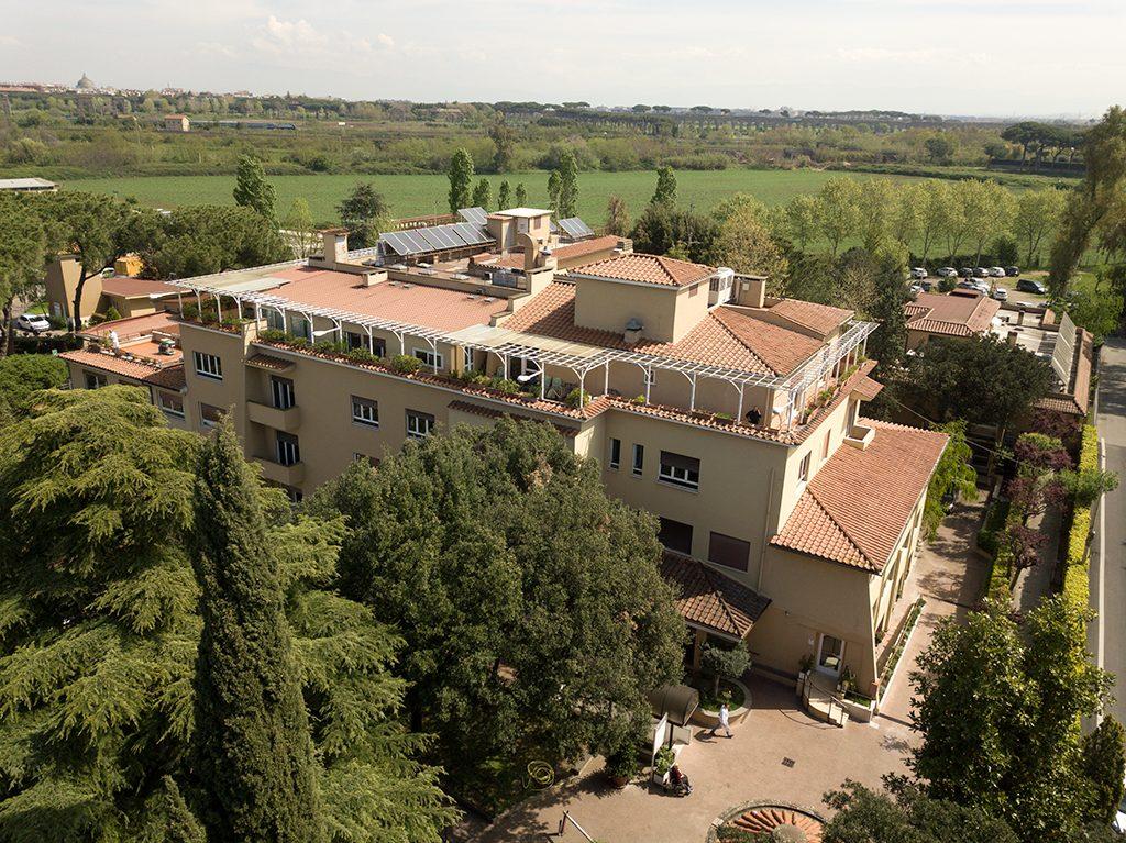 Villa Fulvia esterni area giardino